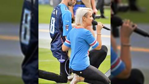 Meghan Linsey Writes Article Explaining Her Decision To Kneel After National Anthem | Country Music Videos