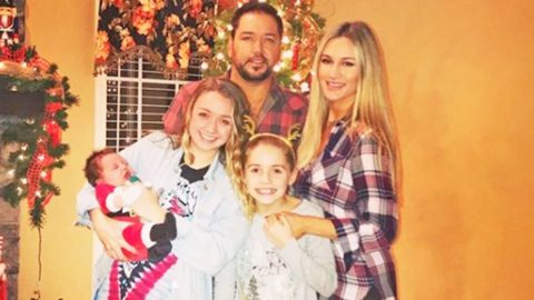 Jason & Brittany Aldean Celebrate Baby Memphis' First Christmas In 'Coolest' Way Possible | Country Music Videos