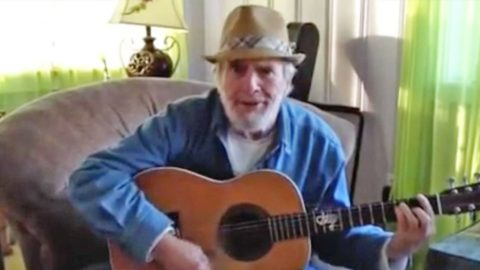 Rare Home Video Of Merle Haggard Performing A Country Classic Will Make You Miss Him | Country Music Videos