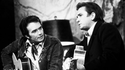 Merle Haggard Recounts The Unbelievable Moment He First Met Johnny Cash   Country Music Videos