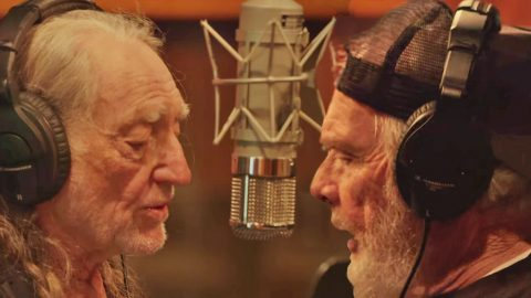 Incredible Behind The Scenes Footage Of Merle Haggard and Willie Nelson Recording Their New Album | Country Music Videos