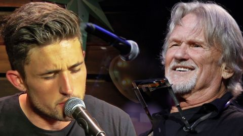 Michael Ray Pays Tribute To Kris Kristofferson With Striking Cover Of 'Sunday Mornin' Comin' Down' | Country Music Videos