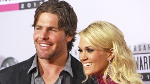 Carrie Underwood's Husband Congratulates Her On Huge CMA Win In Adorable Way | Country Music Videos
