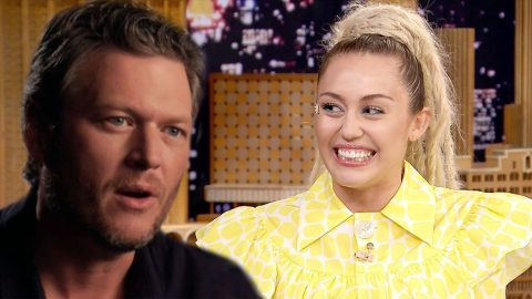 Miley Cyrus Reveals Blake Shelton's Hysterical High School Nickname | Country Music Videos