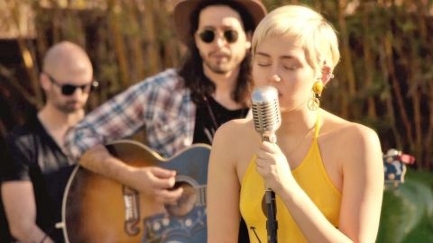 Miley Cyrus' Country-Fried Rendition Of 'Happy Together' Will Leave You Speechless | Country Music Videos