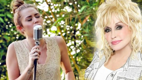 Miley Cyrus Stuns Viewers With Her Godmother's Heartbreaking Hit 'Jolene'   Country Music Videos