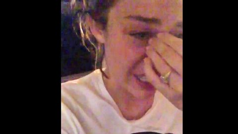 Tearful Miley Cyrus Reacts To Election Results | Country Music Videos