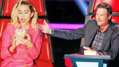 Miley Cyrus Makes Fun Of Blake Shelton For Losing With Hysterical Photo |  Country Rebel