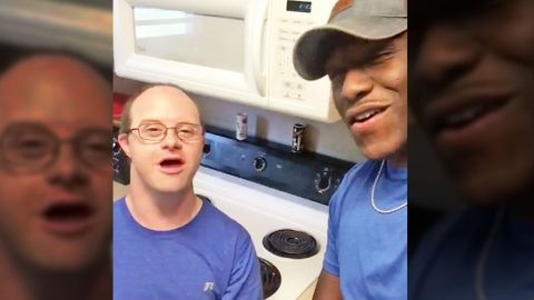 'AGT' Star Sweetly Sings 'Tennessee Whiskey' With 'Brother' Who Has Down Syndrome | Country Music Videos