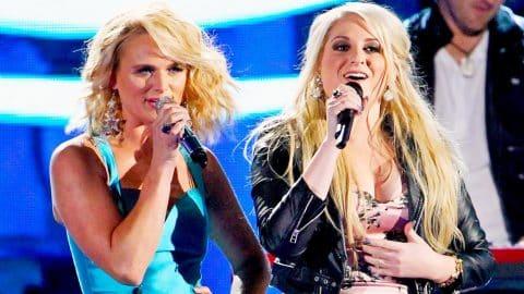 THROWBACK: Miranda Lambert & Meghan Trainor Own The CMA's With Fiery Duet | Country Music Videos