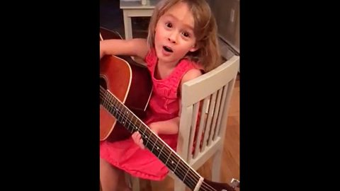 4-Year-Old Will Cure Your Heartache With Adorable Miranda Lambert Cover | Country Music Videos