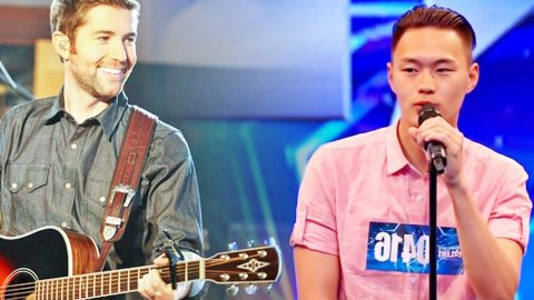 Josh Turner Sound-Alike Blows Away Judges With George Strait Cover | Country Music Videos