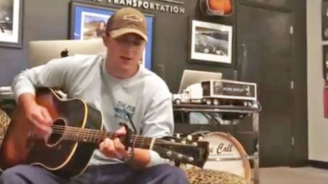 John Michael Montgomery's 17-Year-Old Son Sounds Exactly Like Him In 'Life's A Dance' | Country Music Videos