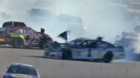 Massive NASCAR Crash Takes Out Multiple Drivers | Country Music Videos