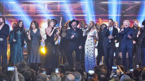 CMA Brings Everyone On Stage For An Absolutely Loaded Opening Act | Country Music Videos