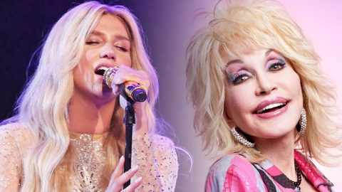 Kesha Goes Country With Stirring Tribute To Dolly Parton's 'Jolene' | Country Music Videos