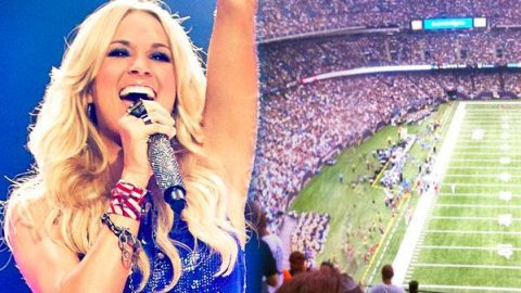 Carrie Underwood Will Open Super Bowl Sunday With Special Theme Song! | Country Music Videos