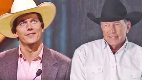 George Strait Reliving His First CMA Win Is The Cutest Thing You'll See All Day   Country Music Videos
