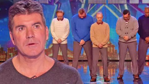 Simon Cowell Can't Believe What He Sees When These 5 Old Men Start Dancing | Country Music Videos
