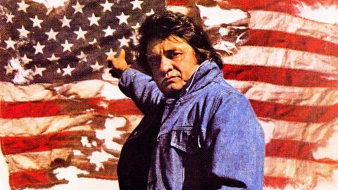 Johnny Cash Shows Patriotism And Respect For Old Glory In 'Ragged Old Flag' | Country Music Videos