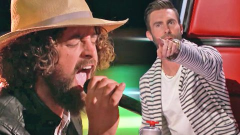 Soulful 'Voice' Contestant Stuns With Otis Redding Hit During Blind Audition   Country Music Videos
