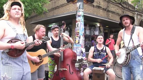 Bluegrass Band Gives Epic Twist To Guns 'N Roses' 'Paradise City' | Country Music Videos
