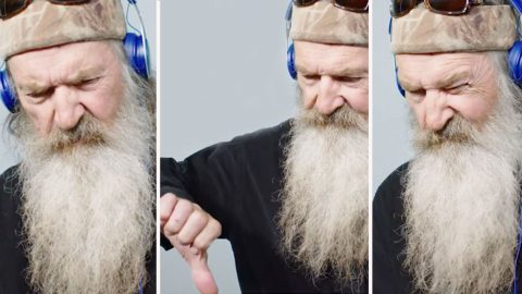 Phil Robertson Listens To Modern Pop Music For The First Time And His Reactions Are Priceless | Country Music Videos