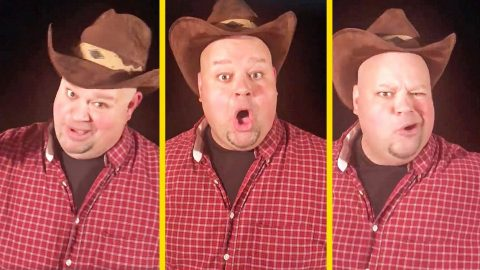 Kentucky Principal Comically Announces Snow Day With Spot-On Garth Brooks Impression | Country Music Videos