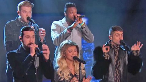 Pentatonix Puts Unique Spin On Holiday Classic 'God Rest Ye Merry Gentlemen' | Country Music Videos
