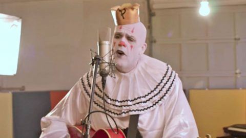 Puddles Pity Party Puts Eerie Twist On One Of Elvis Presley's Most Successful Records | Country Music Videos