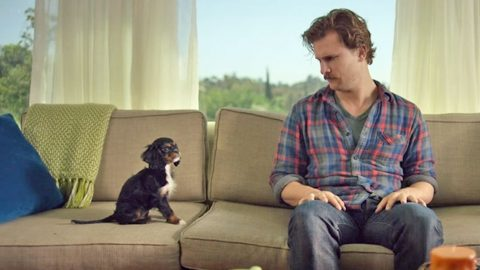 A Man Falling In Love With His New Puppy Will Melt Your Heart (WATCH) | Country Music Videos