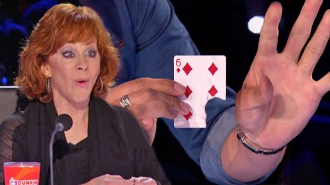 Reba McEntire FREAKS OUT Over Magic Trick On 'American's Got Talent' | Country Music Videos