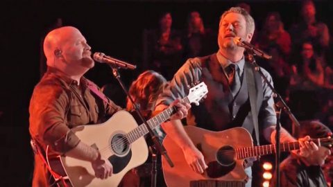 Blake Shelton & Red Marlow Team Up For Rockin' Duet Of 'I'm Gonna Miss Her' | Country Music Videos
