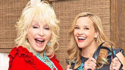 Reese Witherspoon Gave Dolly Parton The Most Magnificent Birthday Gift Ever   Country Music Videos