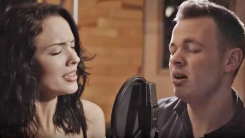Beautiful Young Couple Deliver Phenomenal 'Tennessee Whiskey' Duet | Country Music Videos