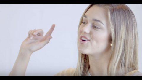 Sadie Robertson's Angelic Singing Voice Shines Bright In Meaningful New Song | Country Music Videos