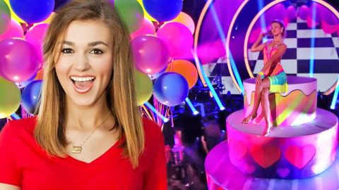 Sadie Robertson Grooves To The 'Birthday' Song On 'Dancing With The Stars' | Country Music Videos