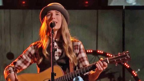16-Year-Old 'Voice' Champion Sawyer Fredericks Sings His Way Into History With 'Simple Man' | Country Music Videos