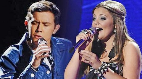 Scotty McCreery & Lauren Alaina Bring Crowd To Their Feet With Iconic 'I Told You So' | Country Music Videos