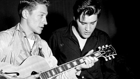Scotty Moore, Elvis Presley's Guitarist, Dies At 84 | Country Music Videos