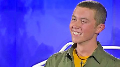 Teenage Scotty McCreery Made 'Idol' Judges Blush With Josh Turner's 'Your Man' | Country Music Videos