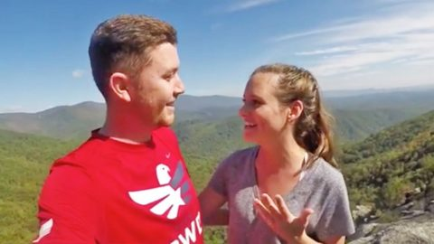 Scotty McCreery Accidentally Recorded Part Of His Proposal & The Video Is Adorable | Country Music Videos