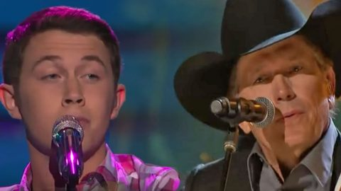 Scotty McCreery Pays Tribute To George Strait With Heart-Stopping Cover of 'Check Yes Or No' | Country Music Videos