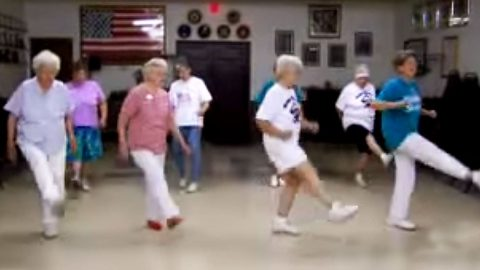 Senior Citizens Bust Out Their Youthful Spirits In Epic Country Line Dance | Country Music Videos