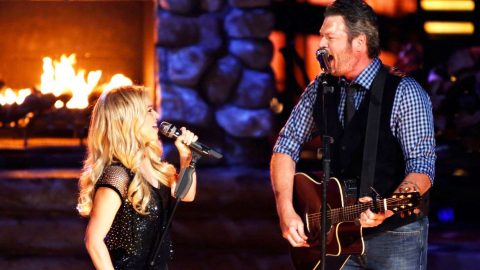 Blake Shelton Only Has Eyes For Shakira In Their Performance Of 'Need You Now' | Country Music Videos