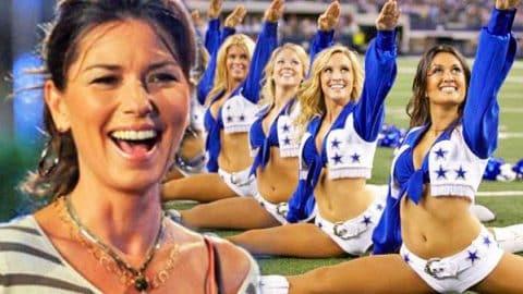 Shania Twain Meets The Dallas Cowboys' Cheerleaders (Cute!) (VIDEO) | Country Music Videos