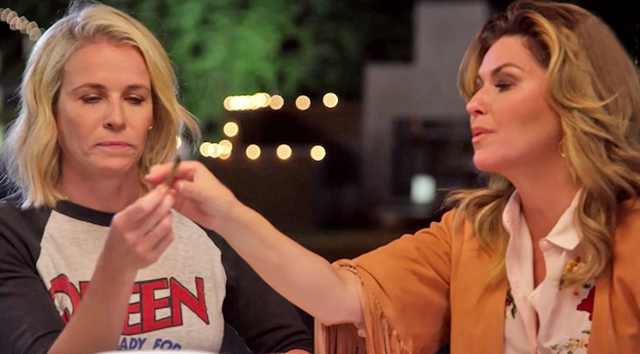 Image result for Shania Twain Passes A Joint At Chelsea Handler'