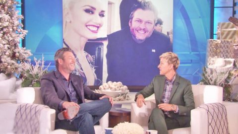 Blake Shelton Gushes Over How 'Hot' Gwen Stefani Is | Country Music Videos