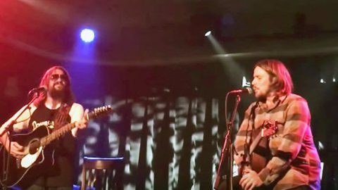 Lukas Nelson & Shooter Jennings Honor Their Fathers With Rockin' 'Good Hearted Woman' | Country Music Videos