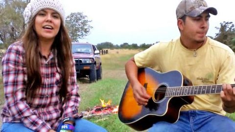 Brother & Sister Deliver Pure Country Cover Of George Strait's 'Amarillo By Morning' | Country Music Videos